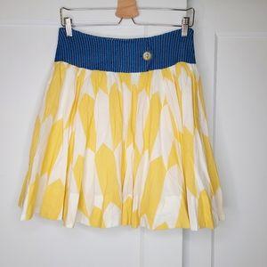 Anthropologie Fei Thataway ALine Printed Skirt NEW